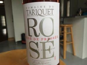 rosé de pressée tariquet