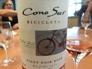 bicicleta cono sur rosé