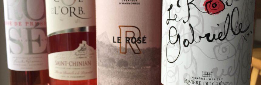 , Le vin rosé coule toujours à flots !