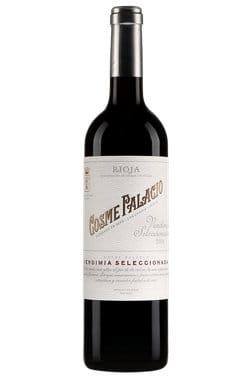Bouteille de vin rouge Cosme Palacio Rioja