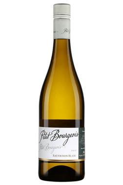 Bouteille de vin blanc Petit bourgeois Sauvignon blanc Val de Loire