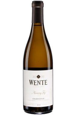 Bouteille de vin blanc Wente Chardonnay Californie