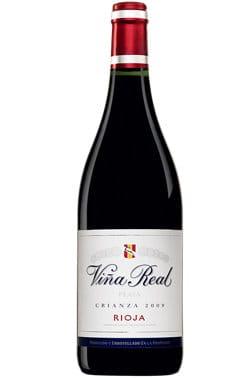 Bouteille de vin rouge CVNE Vina Real Rioja Crianza 2017