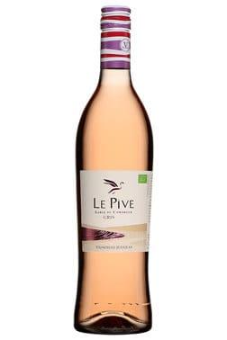 Bouteille de vin rosé Le Pive - Tout sur le Vin