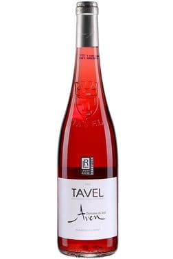 Bouteille de vin rosé Domaine du Vieil Aven Tavel