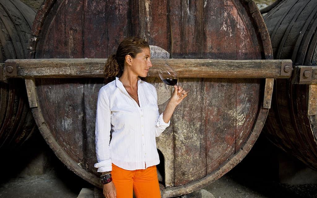 Gaetana Jacono, de Valle dell'Acate, productrice de frappato