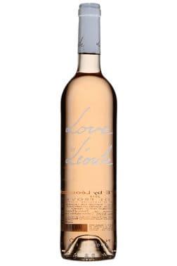 Bouteille de vin rosé Love by Leoube rosé