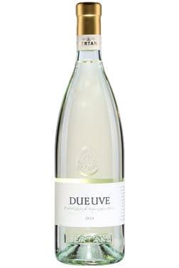 Bouteille de vin blanc Bertani Duè Uvè Pinot Gris / Sauvignon Blanc 2019
