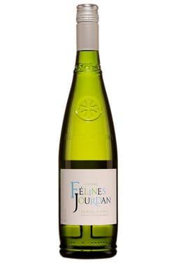 Bouteille de vin blanc Felines Jourdan picpoul