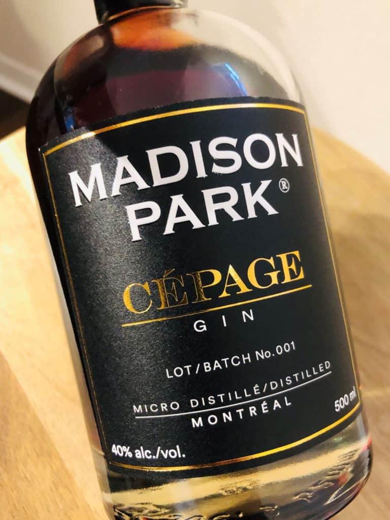 1769 Distillery Madison Park Gin Cépage
