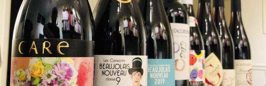 Test de goût - Les vins nouveaux de 2019