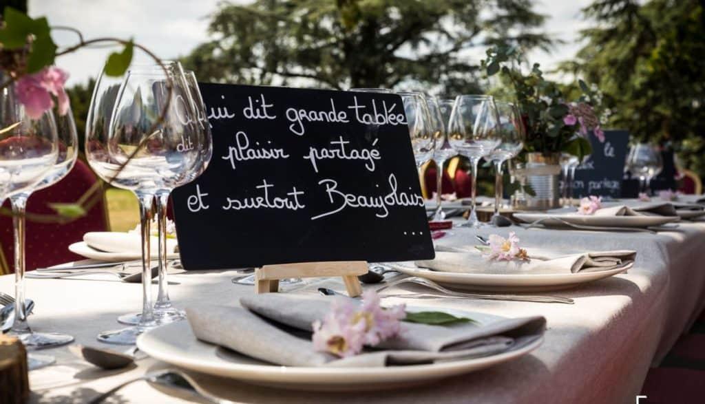 Vive les vins blancs de la Beaujonomie