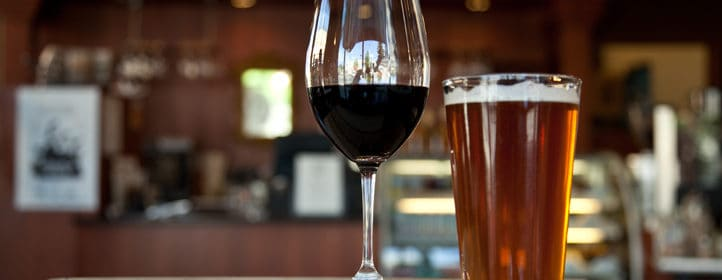 Bière et vin tout sur le vin
