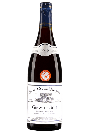 Didier Erker Givry premier cru Les Bois Chevaux 2017