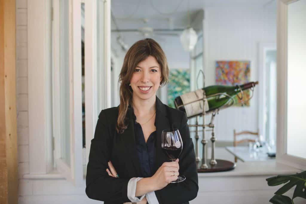 Sophie Allaire, Restaurant Le Bistro à Champlain
