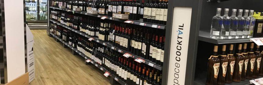 Retour à la livraison de vin à la SAQ