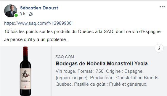 Sébastien Daoust - FB