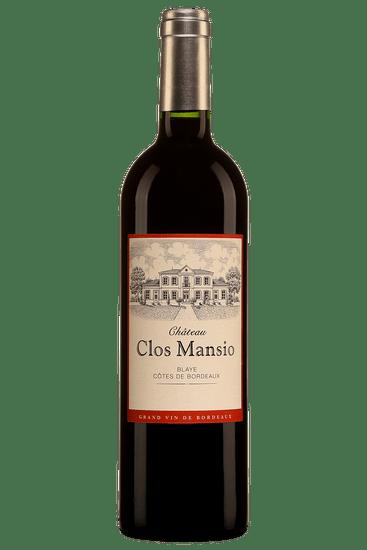 Château Clos Mansio Blaye Côtes de Bordeaux 2016