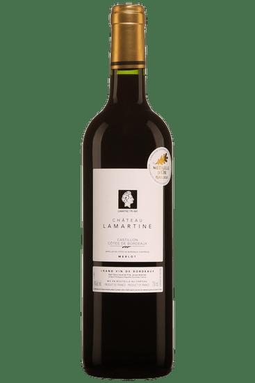 Château Lamartine Castillon Côtes de Bordeaux 2018