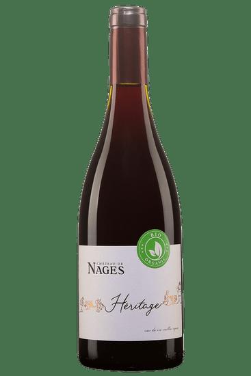 Château de Nages Costières de Nîmes Héritage Vieilles Vignes 2017