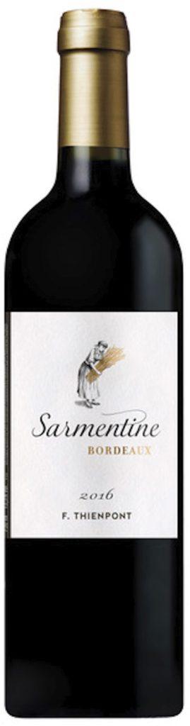 Sarmentine Bordeaux 2016