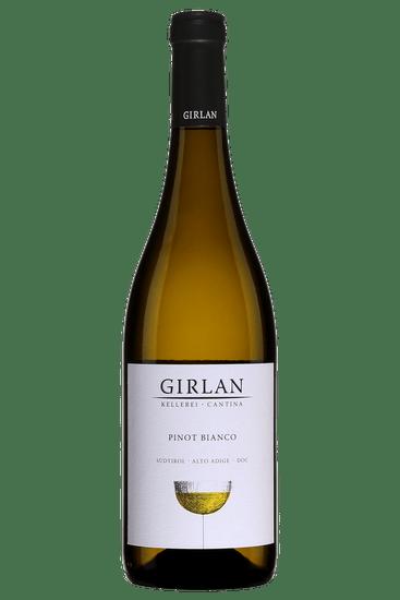 Bouteille de vin de Cantina Girlan Pinot Bianco Alto Adige Sudtirol 2019