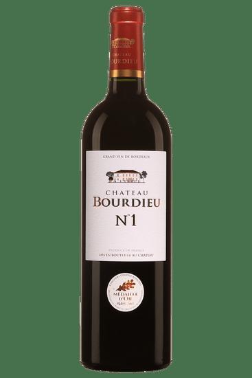 Château Bourdieu N°1 Blaye Côtes de Bordeaux 2015