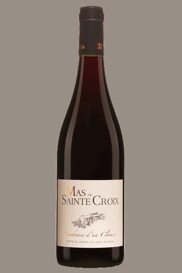 Bouteille de vin Mas de Sainte Croix Côtes du Rhône Villages Tendresse d'un Climat 2017