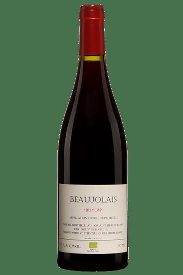 Quentin Harel Domaine de Buis-Rond Beaujolais Buyon 2018