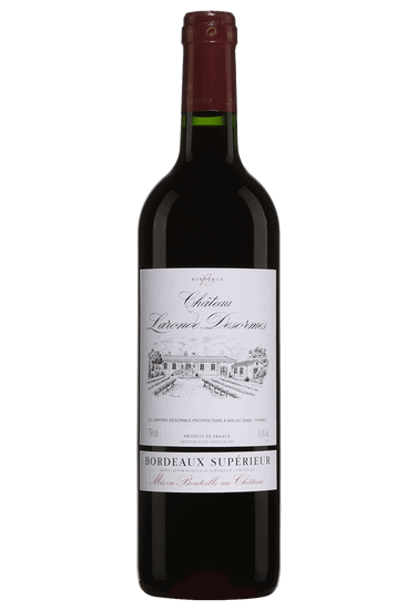 Bouteille de vin rouge Château Laronde Desormes Bordeaux Supérieur 2016
