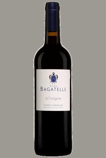 Bouteille de vin rouge Clos Bagatelle À l'Origine Saint-Chinian