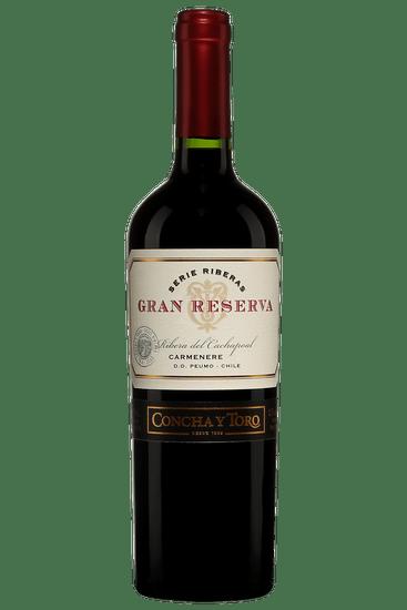 Bouteille de vin rouge Concha y Toro Carmenere Gran Reserva 2018