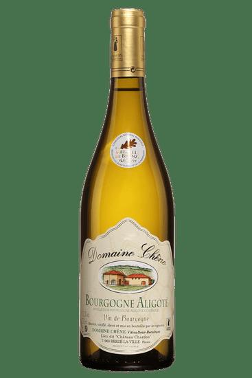Bouteille de vin blanc Domaine Chêne Bourgogne Aligoté 2019