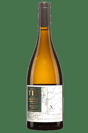 Bouteille de vin du Domaine du Tix Cuvée des Grandes Pointes 2018
