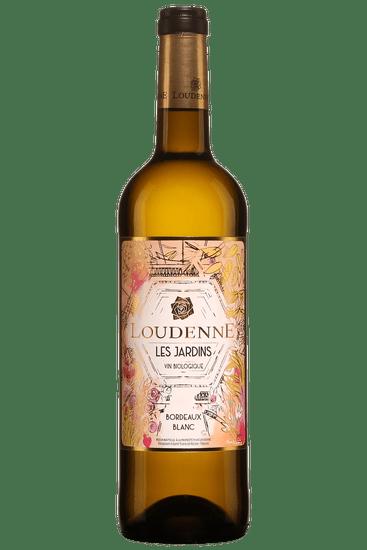 Bouteille de vin blanc Loudenne Les Jardins Bordeaux 2019