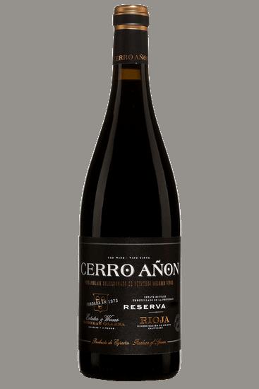 Bouteille de vin rouge Olarra Cerro Anon Rioja Reserva 2015