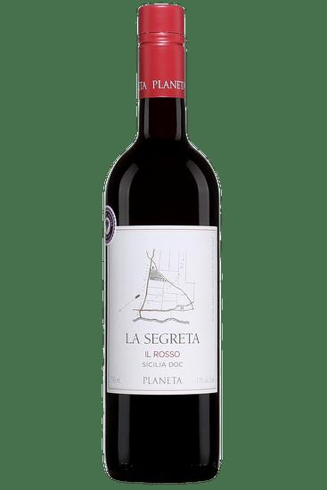 Bouteille de vin de Planeta La Segreta Il Rosso Sicilia 2018