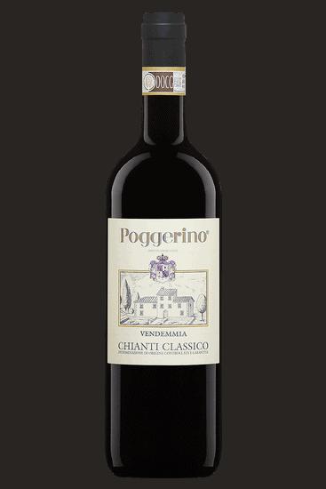 Bouteille de vin Poggerino Chianti Classico 2018