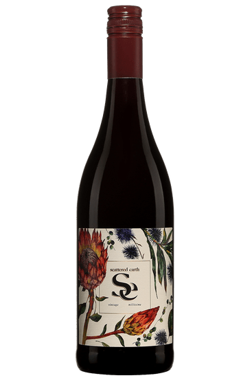 Bouteille de vin rouge Scattered Earth Cinsault Western Cape