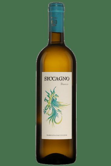 Bouteille de vin blanc Baccellieri Siccagno 2018