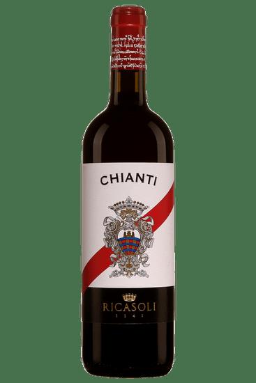 Bouteille de vin rouge Barone Ricasoli Chianti