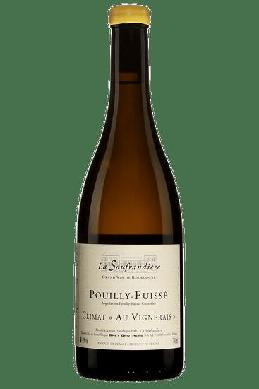 Bouteille de vin blanc Bret Brothers La Soufrandière Pouilly-Fuissé Climat Au Vignerais 2018