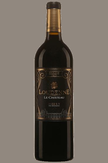 Bouteille de vin rouge Château Loudenne Médoc cru bourgeois 2015
