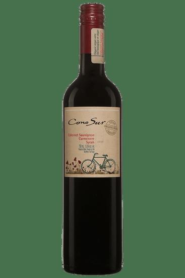 Bouteille de vin rouge Cono Sur Cabernet-Sauvignon Carmenère Syrah 2019