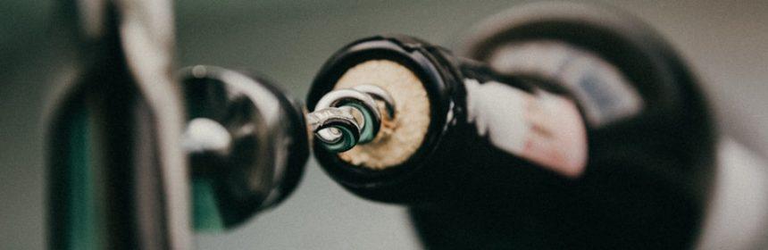 Débouchage de bouteille
