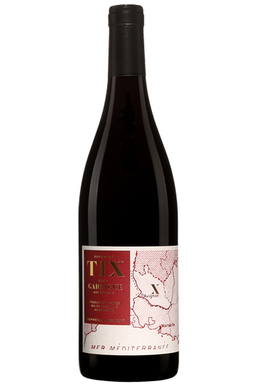 Bouteille de vin rouge Domaine du Tix Ventoux Garrigue 2019