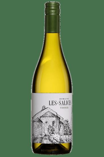 Bouteille de vin blanc Domaine les Salices Pays d'Oc Viognier 2019