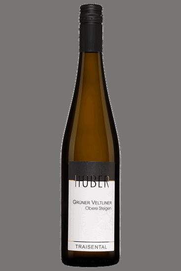 Bouteille de vin blanc Huber Grüner Veltliner Obere Steigen 2019