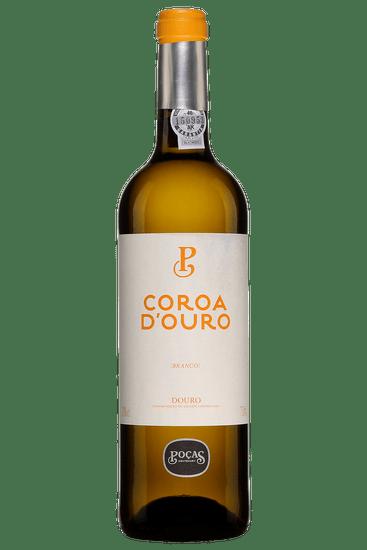 Bouteille de vin blanc Pocas Coroa d'Ouro 2019