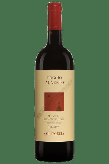 Bouteille de vin rouge 2012 Col d'Orcia Poggio al Vento Brunello di Montalcino Riserva